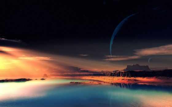 планета, фантастический