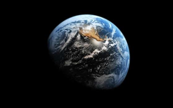 земля, космос, планета