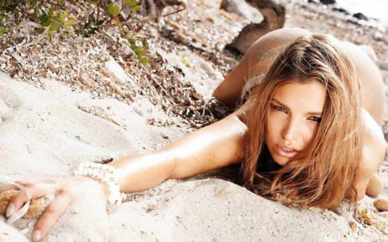 devushki, девушка, лежит, животе, песок, summer, пляж, берег, panties,