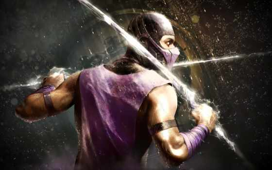 mortal, kombat, дождь, scorpion,