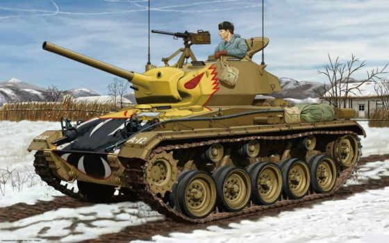 bronco, chaffee, cb, tank, models, war, korean, light, image, легкий, model, kit,