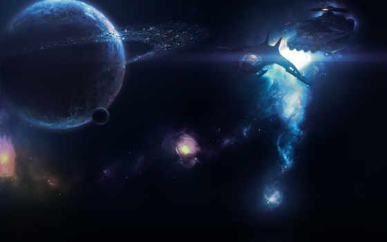 звездолёт, планета