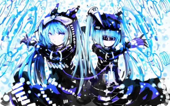 anime, девушки Фон № 29811 разрешение 1920x1200