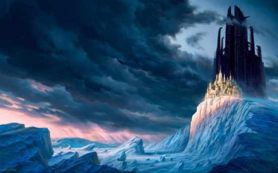 castles, fantasy, amazing, medieval, middle, art, castle, ages, об,
