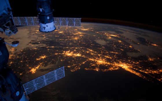 мкс, bg, прогресс, earth, new, space, tags, images, атлантика, code, союз, night, океан, америка, северная,