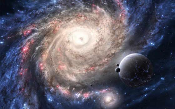 галактика, планеты