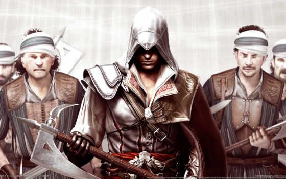 creed, assassins, assassin, сторон, соотношением, разрешением,