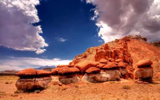 пустыня, definition, high, скалы, небо, desktop, clouds, телефон,