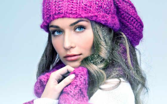 шапки, вязаные, женские, шапка, зимние, модные, модели, женщин,