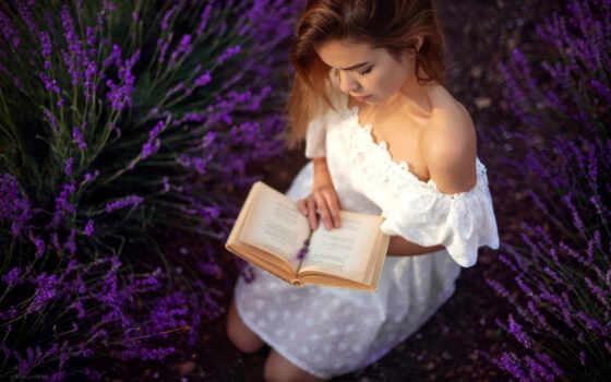 девушка, цветы, настроение, платье, поза, тематика