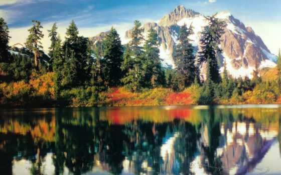 landscape, календарь, природа, январь, paysage, otoño, оригинал, automne,