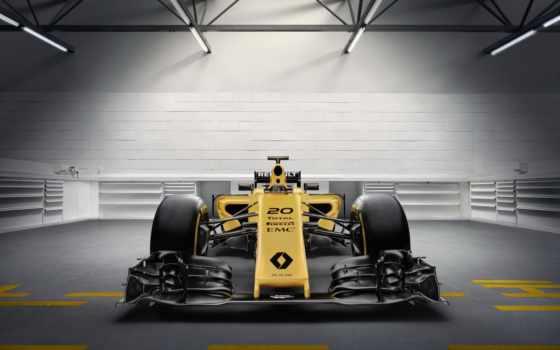 renault, formula, car, команда, мар, livery, yellow, представила, race,