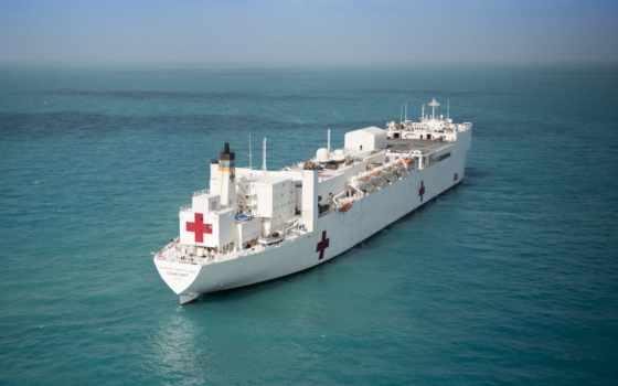comfort, usns, puerto, rico, hospital, корабль, ураган, рельеф, оказывать,