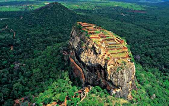 sigiriya, lanka, sri, لسطح, rock, nature, landscapes, forest, world, cultural, packages,
