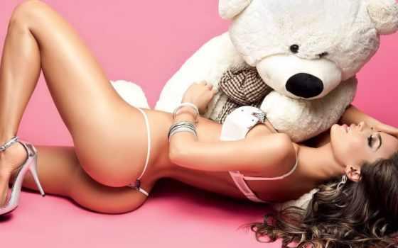 медведь, девушка, медведя