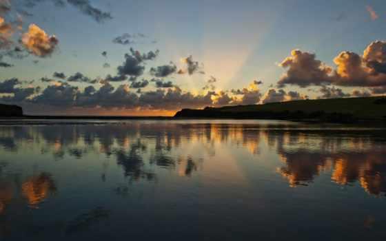 разделе, природа, берега