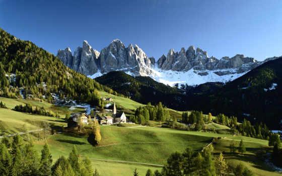 природа, italy, горы