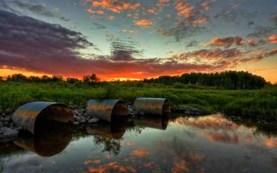 фото, природа, ucoz, леса, пейзажи -, озеро, закат, full, дух,