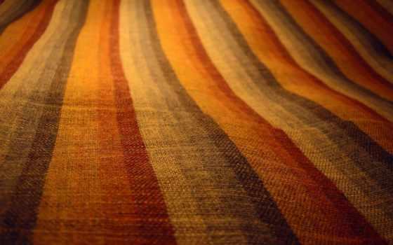 ткань, линии, радуга, краски,