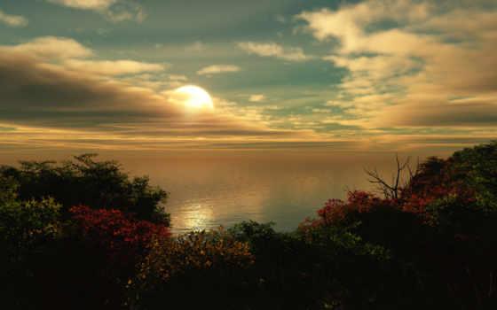 планшетный, моря, природа, ipad, galaxy, широкоформатные, берегу, природы,