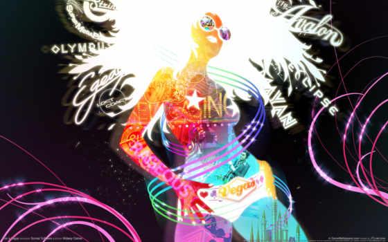 girl, art Фон № 11776 разрешение 1920x1200