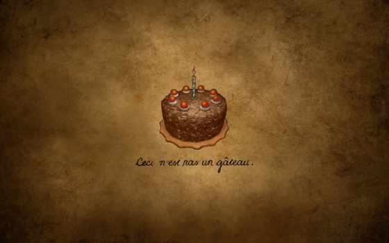 тортик, свечка
