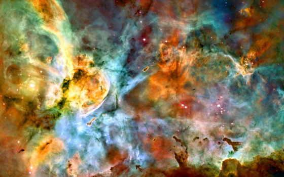 киля, звезд, ngc, nebula, галактики, эты, star, ринг, голубых, ядра, around, хога, объект,
