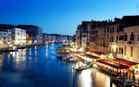 venice, canal, italy, grande, grand, канал, города,