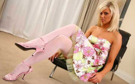 girls, stockings, девушки