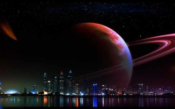 dubai, ночь, art, cosmos, фото, тротуар, amazing, gallery, город, landscape,