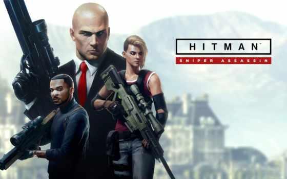 hitman, assassin, снайпер, action, warner,