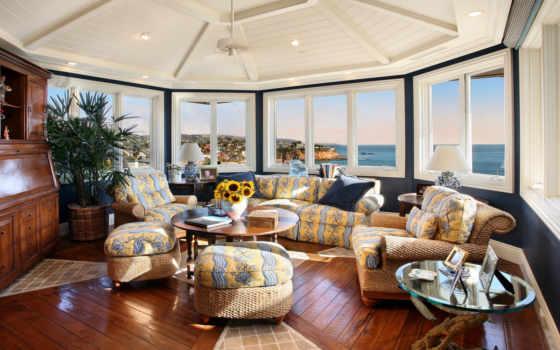 интерьер, дизайн, вилла, дом, стиль, комната, жилая, гостиная,