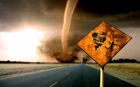 торнадо, стихийные, бедствия