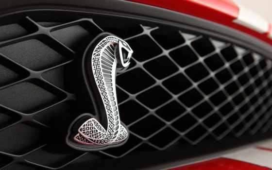 ford, cobra, эмблема, логотип, shelby, тачки, mustang,