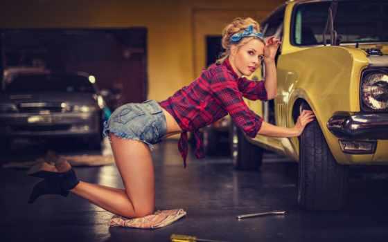 авто, девушка, машина, автомобили, ремонт, devushki, шины, гараж, autoshini, красавица, крым,