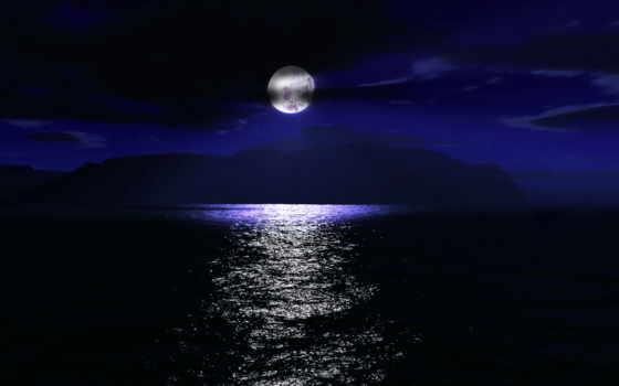 лунная, трек, море, банка,