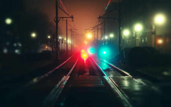 rail, ipad, trains, ночь, транспорт, fret, locomotives,