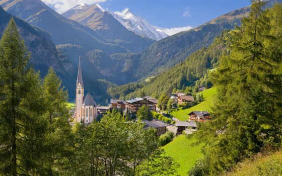 австрия, деревня, дома