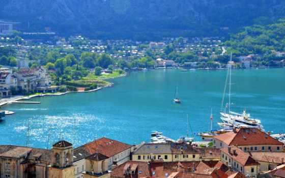 город, черногория, montenegro, котор, лес,
