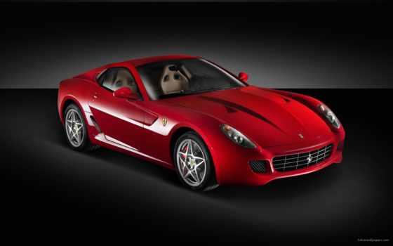 машины, красные, ferrari