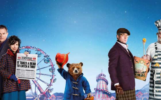 paddington, приключения, паддингтона, медведь, сниматься, плакат,