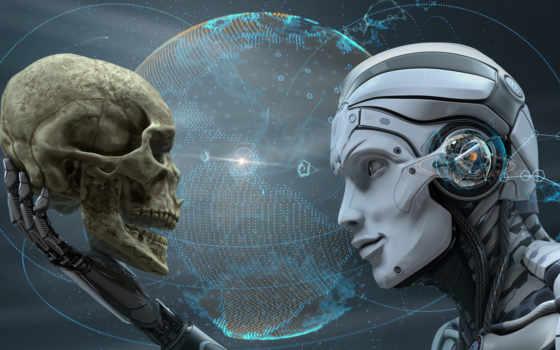 android, futuristic, youtube, cyborg, art, fantasy, human, череп, палуба