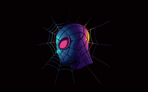 паук, marvel, мужчина, spiderman, digital, comics, супергерой, artwork, cosbaby, art, gvennyi