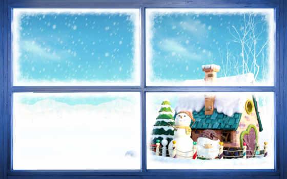 снеговики, new, год Фон № 53056 разрешение 1920x1200