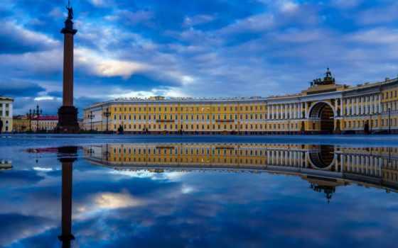 санкт, петербург, площадь
