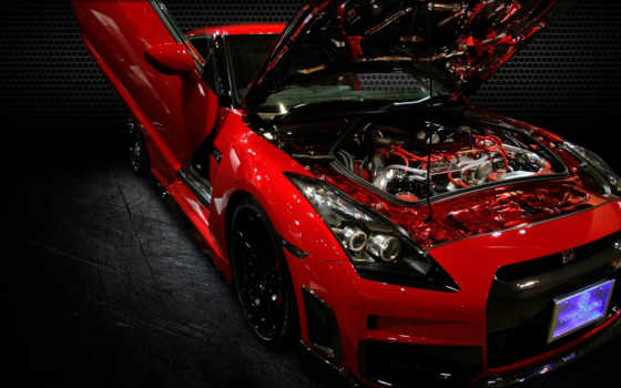 nissan, gtr, engine