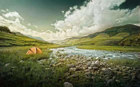 tent, река, горы, долина, природа, лес, кусты, roots, trees, орша,