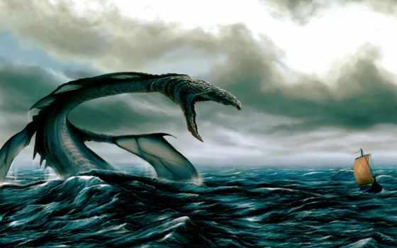 море, змей, свидетельства, great, очевидцев, черноморский, этом, мира, змеи,
