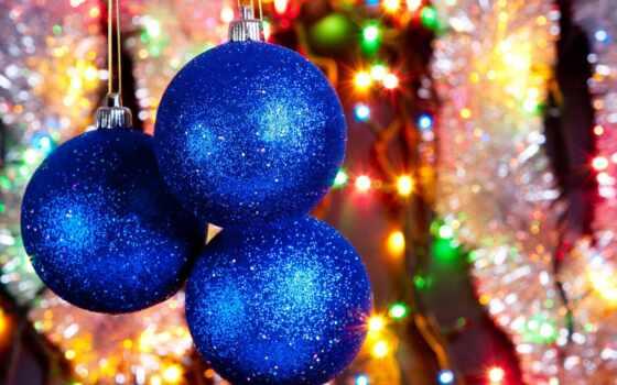 christmas, balls, desktop, blue, украшения, мишура, блеск, дождик, радость, блики, игрушки, елочные, праздник, фонарики, нарядная, елка, огни,