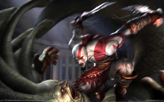 god, war, kratos Фон № 119141 разрешение 1920x1080